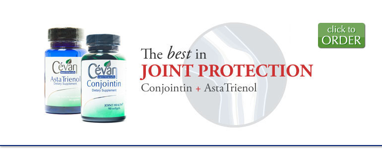 The best in Joint Protection: Conjointin + AstaTrienol